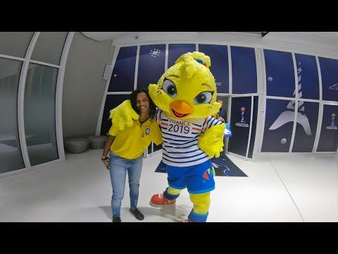 Jessicas pursuit for football with Save The Dream at the FIFA Womens World Cup France 2019TM