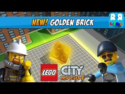 LEGO City My City 2 - New Collectable Item Golden Bricks