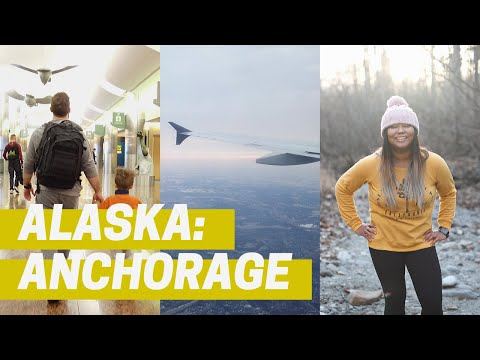 Landing In Anchorage, AK Airport + Cute Anchorage Cafes!