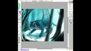 Maltese Tiger - Time Lapsed Speedpaint