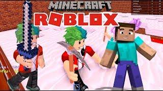 Minecraft in Roblox Minecraft Minigames on Roblox Games for children
