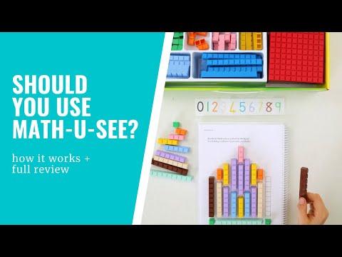 Math-U-See - Homeschool Maths Curriculum Review