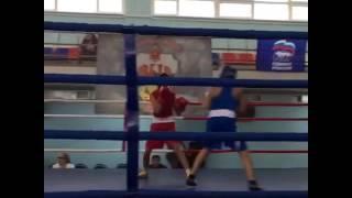 Акопян Давид второй бой Турнир памяти Жабарова Тула 2016 All-Russian boxing tournament memory  Tula