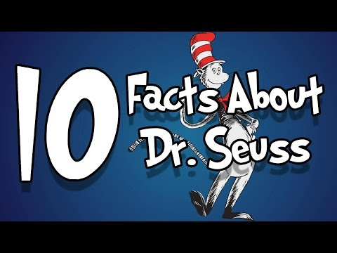 10 Facts About Dr. Seuss You May Not Know!