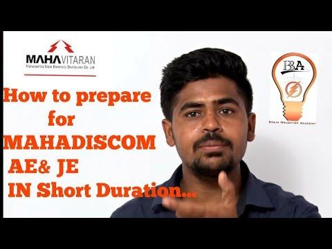 How to prepare for Maha Discom / Transco/ Genco AE & JE