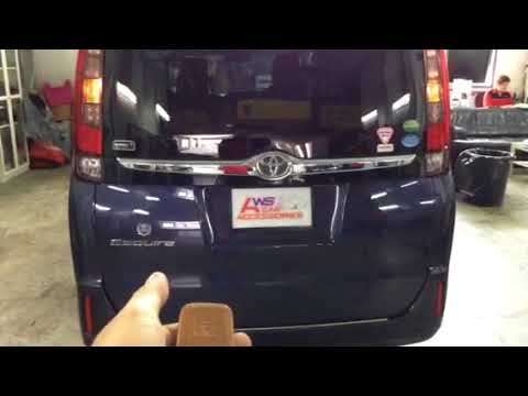 Toyota Esquire 👉2017 Installed Electronic Tailgate Lift,Vaccum Lock N Foot Sensor