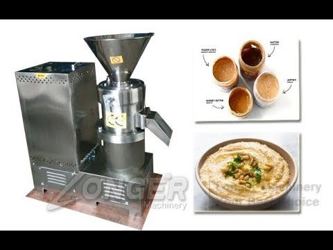 Cocoa Beans Grinding Machine|Multi-purpose Peanut Almond Chickpeas Sesame Butter Grinder