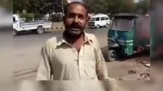 Rickshaw wale ne apna rickshaw jaladia |Rickshaw Driver Viral video