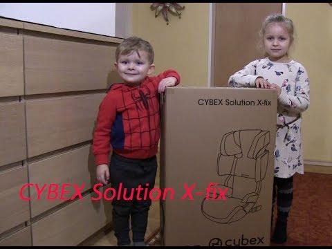 Download KINDERSITZ CYBEX Solution X-fix 🚙