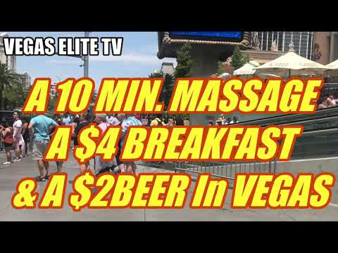 $4 Breakfast , $2 Beer In Vegas & A Massage @ Planet Hollywood