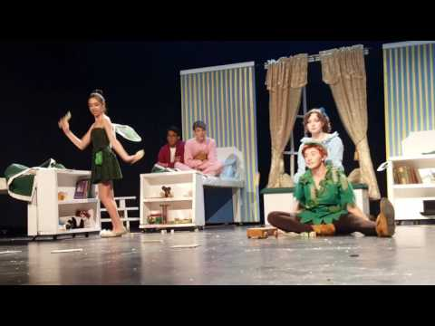White house high school in Peter Pan 2016 part1