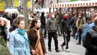 1 мая демонстрация Октябрьское поле Москва