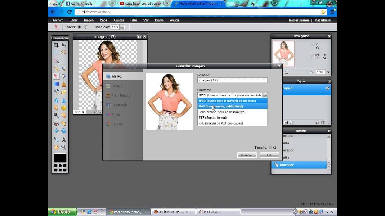 редактор png онлайн