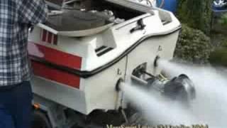Lexus V8 in a boat