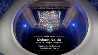 Staatsorchester Stuttgart LIVE - Joseph Haydn: Sinfonie Nr. 86 - IV. Finale, Allegro con spirito