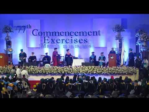 Xavier University School of Medicine Graduation 2016