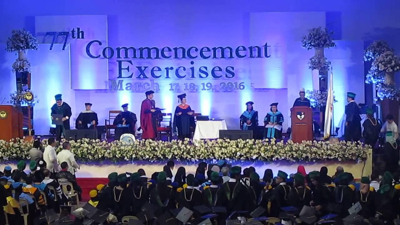a1df3dc4d80 Xavier University School of Medicine Graduation 2016 - YouTube