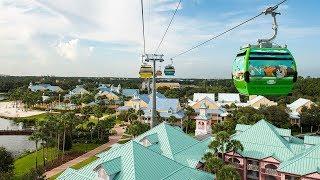 Ride On-Board the Disney Skyliner at Walt Disney World