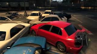 Watchdogs blowing cars up #1
