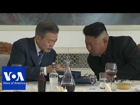 Korean Leaders Exchange Gifts