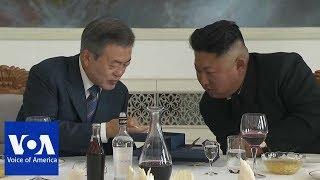 Korean Leaders Exchange Gifts