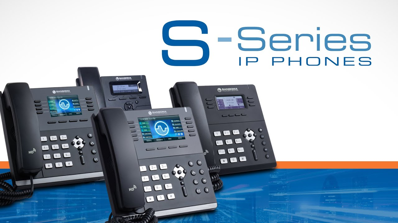 Sangoma IP Phones - Nuvola Distribution