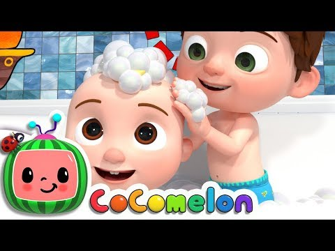 Bath Song | ABCkidTV Nursery Rhymes & Kids Songs