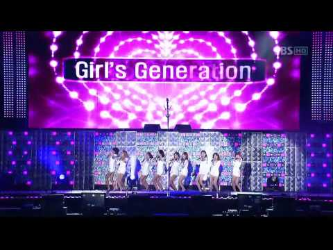 [HD] 090924 SNSD- Tell Me Your Wish(Genie)@ Asia Song Festival 2009