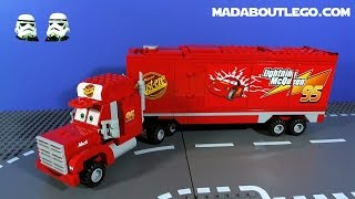 LEGO CARS 2 MACK'S TEAM TRUCK CRASH!