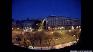 Путевые Заметки в Time Lapse: КИЕВ - ОТ ЗАКАТА ДО РАССВЕТА ( Kyiv - From Dusk till Dawn )