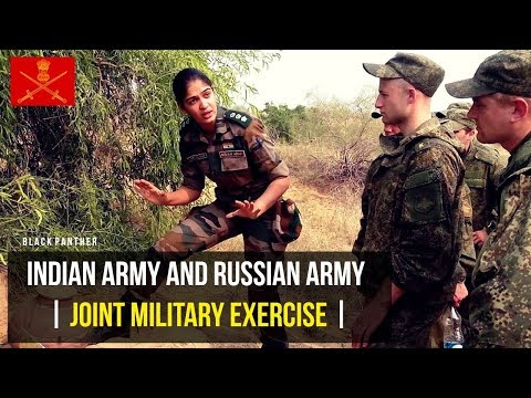 Indian Army and Russian Army Joint Training Exercise - 2017