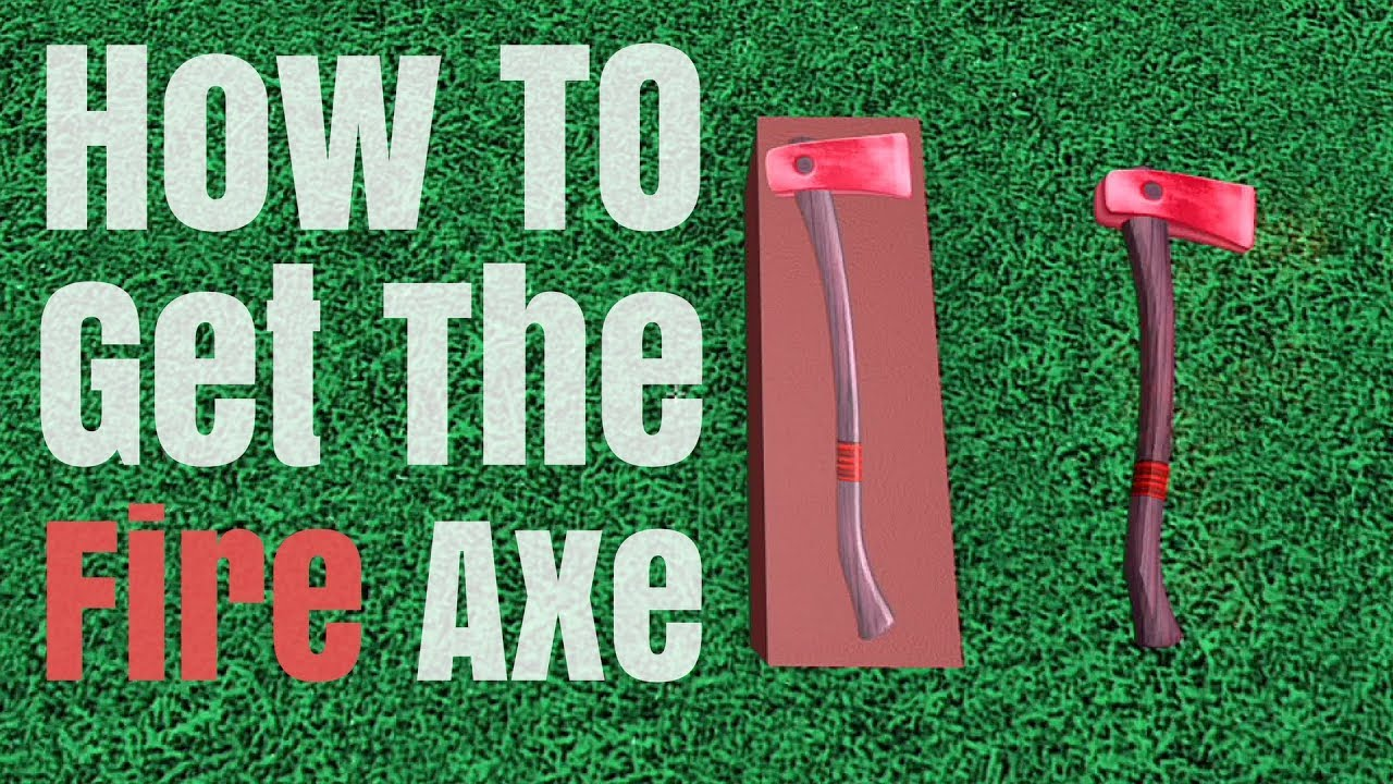 How to Get The Fire Axe ( Lumber Tycoon 2) Roblox
