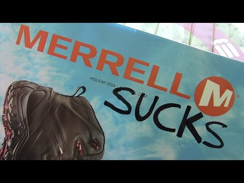 Merrell SUCKS!!! By TheGearTester