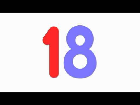 Learning Numbers - Counting 1-20 for Kids by ELF Learning - Numbers Song - ELF Kids Videos