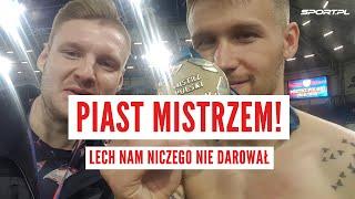 Piotr Parzyszek: Lech dał nam mistrzostwo? Sami sobie je wygraliśmy