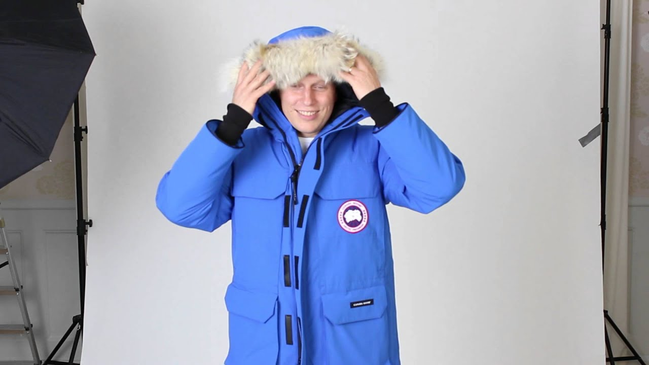 Canada Goose down replica cheap - Canada Goose jacka Expedition PBI medium 2012/09/17 - YouTube