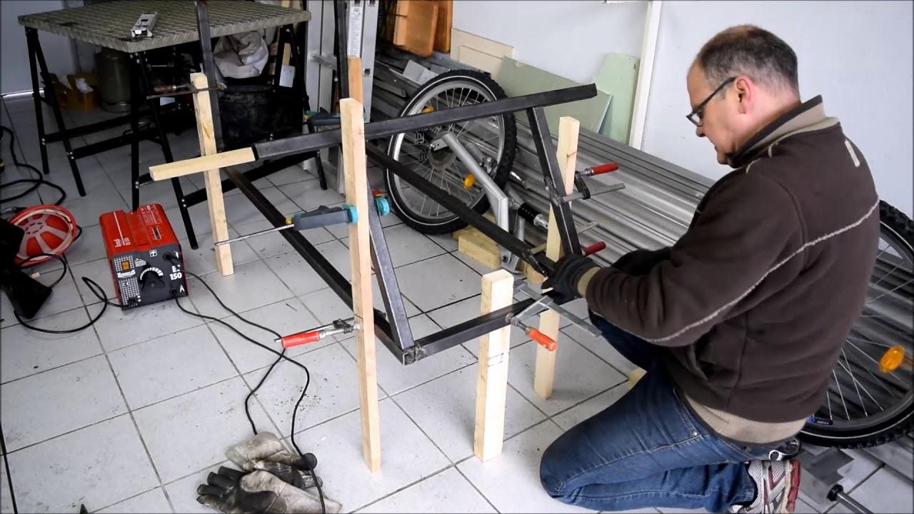 Herstellen des Chassis ( Fahrzeugrahmen ) des Elektrofahrzeug Teil 2 ...