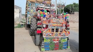 Tractor Decoration Massey Ferguson 375 ,Modified Tractor only in pakistan