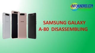 Samsung Galaxy A80 teardown