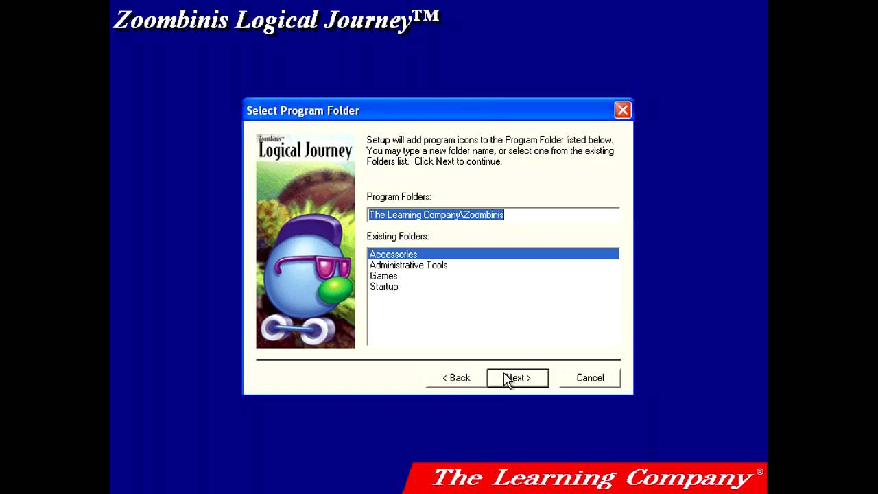 Logical Journey Of The Zoombinis Installation The