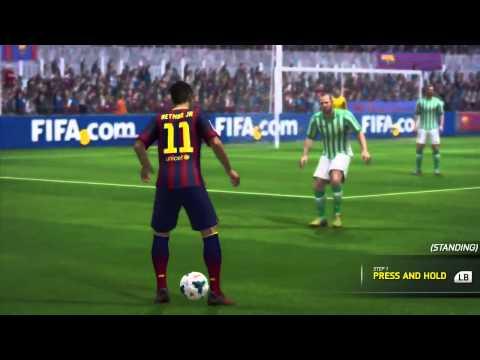 FIFA 14  обучение финтам