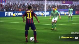 FIFA 14  обучение финтам(FIFA 14 представляет вам новые финты, в этом видео вы научитесь их делать!, 2013-11-01T08:06:40.000Z)