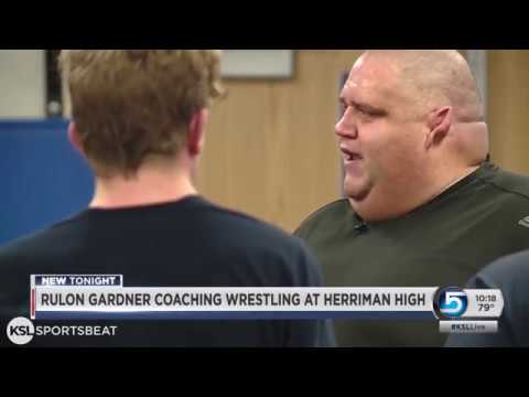 Olympic gold medalist Rulon Gardner the new wrestling coach at ...