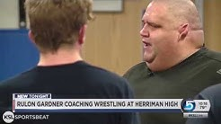 Olympic gold medalist Rulon Gardner the new wrestling coach at Herriman High