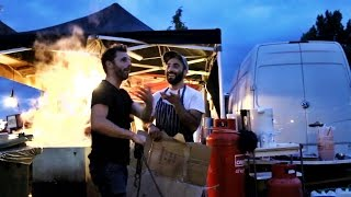 Festival Catering | Behind The Scenes (what you don't normally get to see)