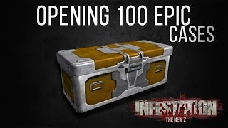 Infestation: New Z. - Opening 100 Epic Skinboxes!