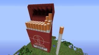 Let's Show Minecraft Piston House Zigarettenschachtel Part 5 + Download