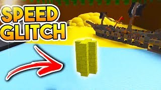 *NEW* SPEED GLITCH (Finish in 10 Seconds!?) | Build A Boat For Treasure ROBLOX