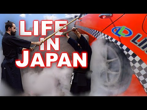 One Week In My Life in Japan | Drifting, Japanese Sword Fighting, and More!