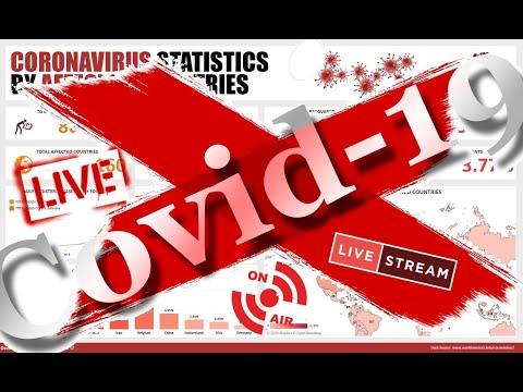 [🚨LIVE🚨] CORONAVIRUS COVID-19 Livestream - Corona VIRUS MAP ( WORLD & USA )- Updates, Covid19 Crisis